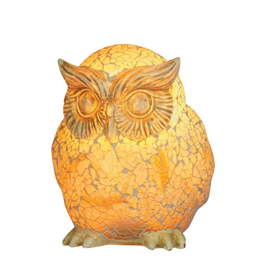 Owl mosaic glass table lamp hegarty lighting ltd owl mosaic glass table lamp aloadofball Gallery