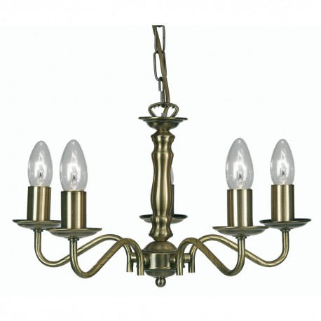 Nador 5 Light Pendant