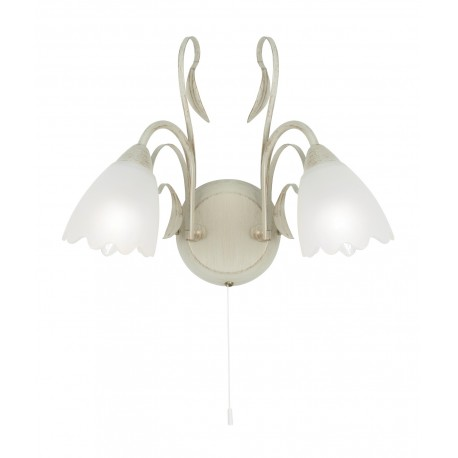 Monroe Wall Light Cream Gold