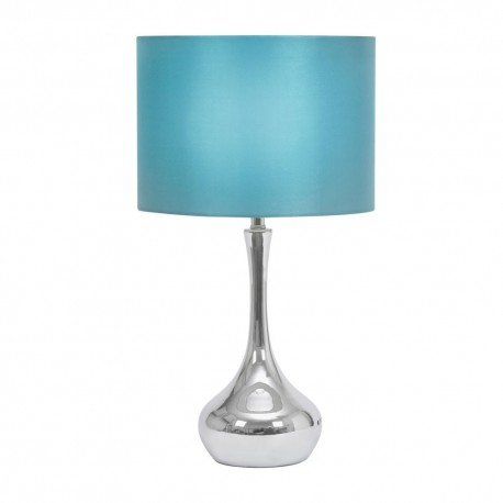 Juno Chrome Touch Table Lamp