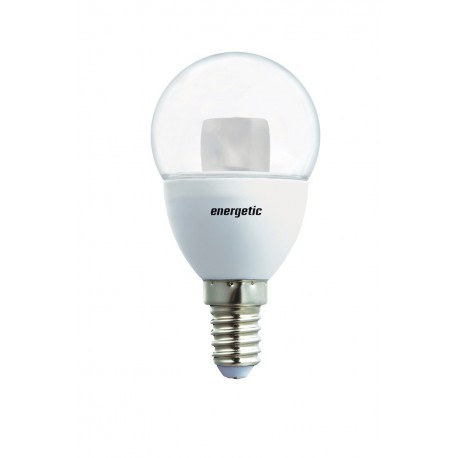 Mini Globe Clear Dimmable 5.5W 350L E14