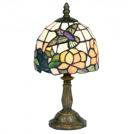"Humming Bird 6"" Tiffany Table Lamp"