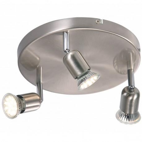 Avenue LED 3-Light Round Plate