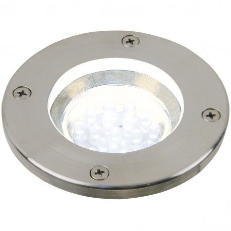 Tilos Round 1-Kit Ground Recessed (Stainless Steel)