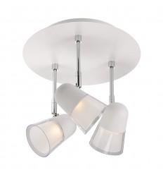 Arles 3-Light Round Plate
