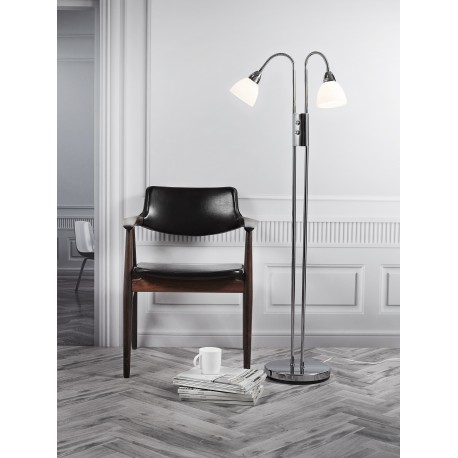 Ray Double Floor Lamp with 2 Dimmers