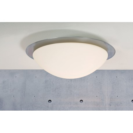 Ufo Maxi Ceiling (Brushed Steel)