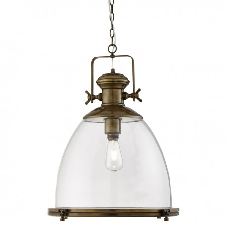 Large Industrial Pendant 6659