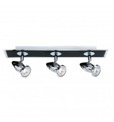 Comet 3 Light Bar Spot Matt Black Chrome