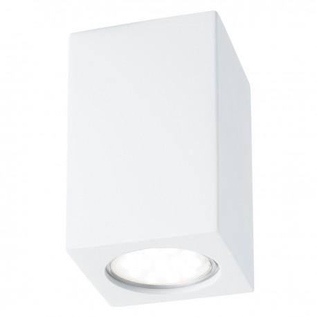 Gypsum Rectangle Flush Ceiling Light