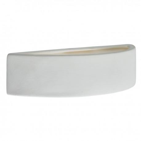 Gypsum Curved Ceramic Wall Bracket