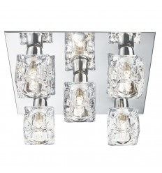 Cool Ice 5 Light Fitting