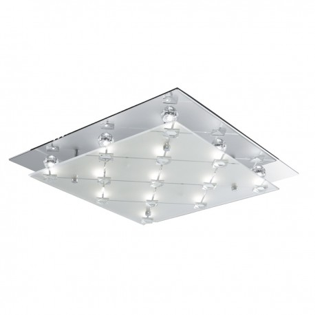 Quadrant LED Square Ceiling Fitting