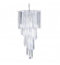 Large Acrylic 4 Light Pendant