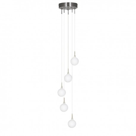 Atom 5 Light Multidrop Pendant