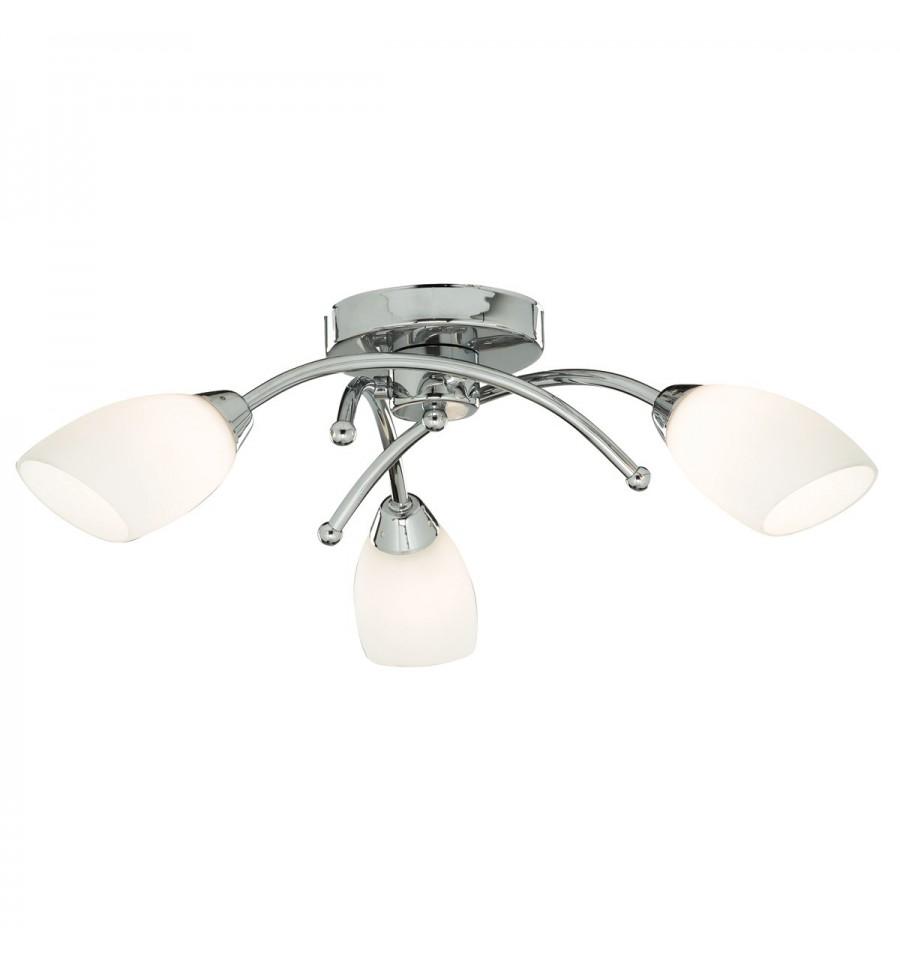 Bathroom Lights Ip44 3 arm bathroom light ip44 4483 - hegarty lighting ltd.