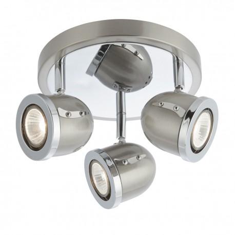Palmer 3 Bulb Spotlight Plate