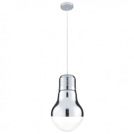 Neo Pendant Chrome 1 Light Mini Bulb