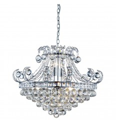 Bloomsbury 6 Light Crystal Chandelier