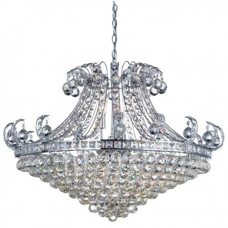 Bloomsbury 8 Light Crystal Chandelier