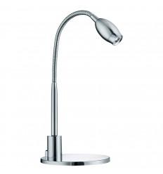 Desk Partners - LED Chrome Flexi Task Lamp