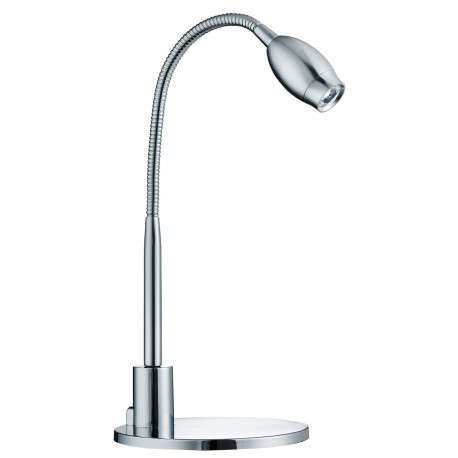 Desk Partners - LED Chrome Flexi Task Lamp