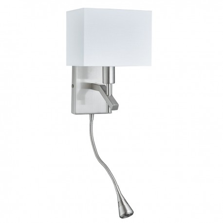 Wall Lights With Adjustable Arms : Adjustable Wall Light with Flexi LED Arm 6104 - Hegarty Lighting Ltd.