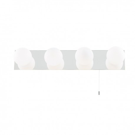 Globe Bathroom 4 Light Wall Bracket IP44