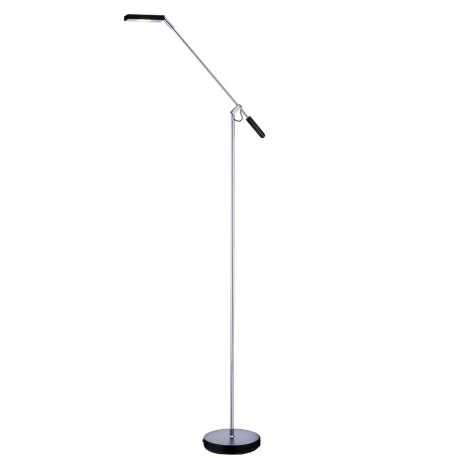 LED Partners - Floor Lamp Black 5W Square