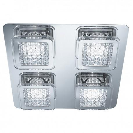 Quadrant 4 Light LED Ceiling Fitting