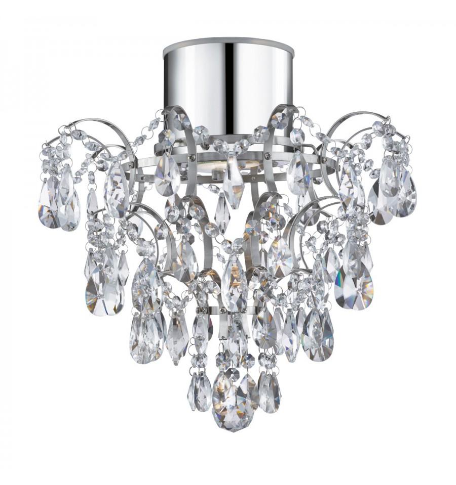Bathroom IP44 Chandelier K5 Crystals - Hegarty Lighting Ltd.