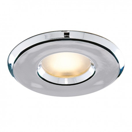 Bathroom - Downlighter Recessed Chrome Halogen Shower Light