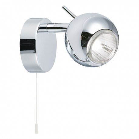 Eyeball 1 Light Chrome Spotlight