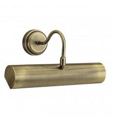 Antique Brass 30cm Picture Light