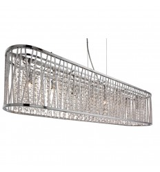 Elise 8 Light Oval Pendant