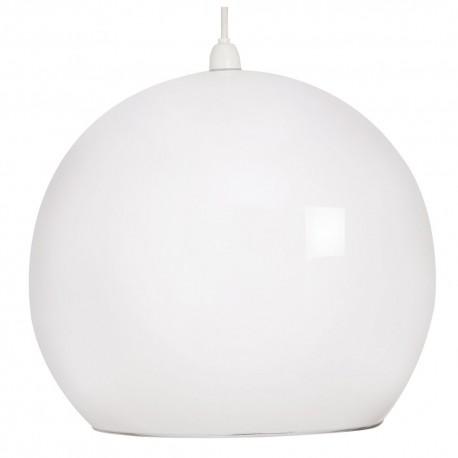 Retro White Large Shade