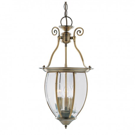 Bow Lantern 3 Bulb