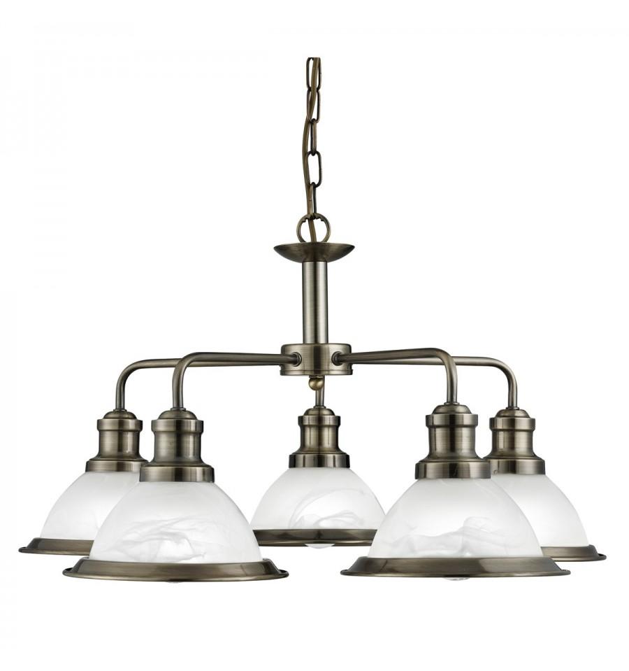 Bistro 5 Light Industrial Pendant