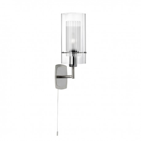 Duo I - Double Glass 1 Light Wall Bracket