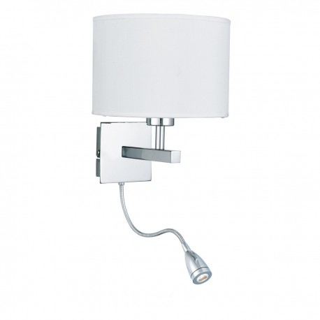 Wall Light - Dual Arm - LED Flexi Arm