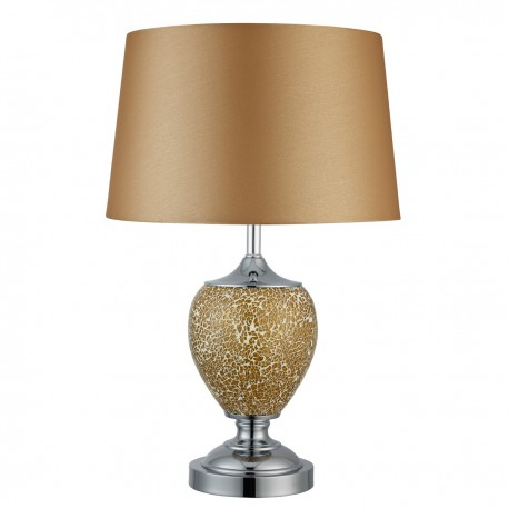 Mosaic Ceramic Urn Table Lamp