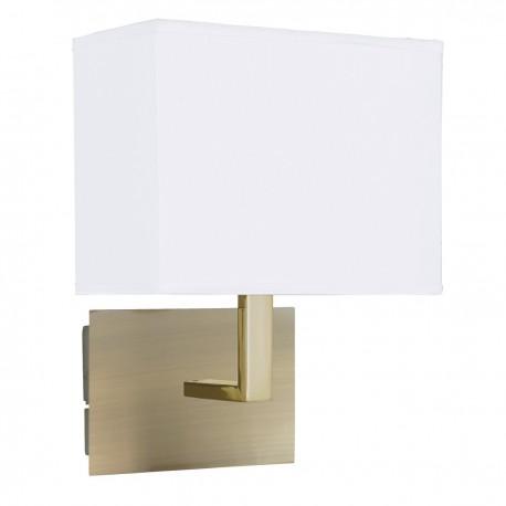 Wall Light With Rectangular Shade