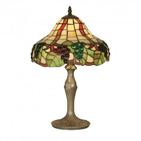 "Grapes II Tiffany Table Lamp 12"""