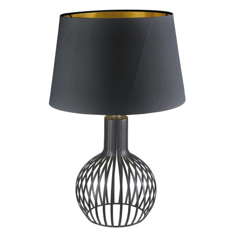 Curved Cage Table Lamp