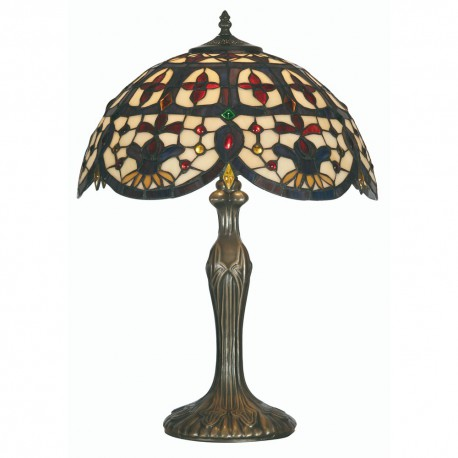 """Jessamine Tiffany Table Lamp 16"""""""