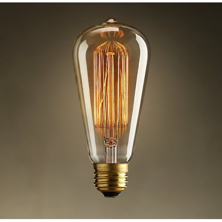 Incandescent Vintage ES 40W Bulb