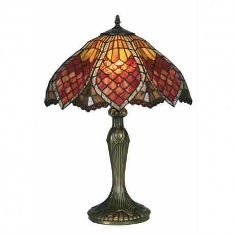 """Orsino Tiffany Table Lamp 16"""""""