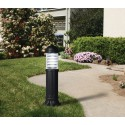 Sauro 800 mm Black Bollard Post Light