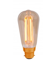 Vintage 4W LED Squirrel Cage B22 Bulb