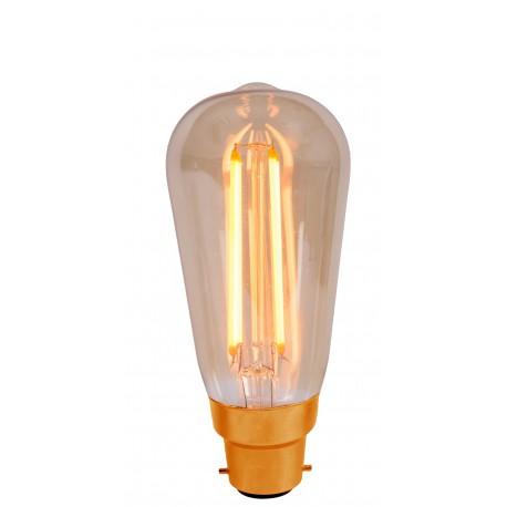 Vintage 4W LED Squirrel Cage B22 Bulb